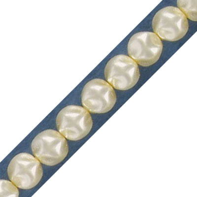 Glass pearls Czech, baroque, 6mm, oyster