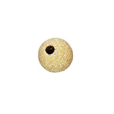 Metal beads, 2.5mm, stardust, approx. hole size 1mm, gold filled, gold plate
