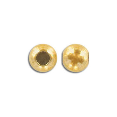 Metal beads, 8mm, slider, with rubber insert, hole size approx. 2.50-3.50mm, stainless steel, gold vacuum plate