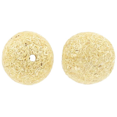 Gumon ivory wood bead, 20mm round