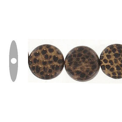 Patikan disk bead, 10mm, 16 inch strand