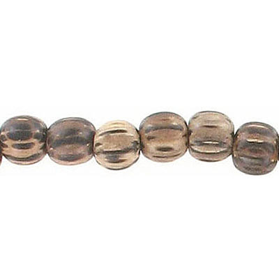Wood bead, 6mm, round, patikan wood, 16 inch strand