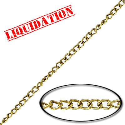 Chain antique brass, 200 meters