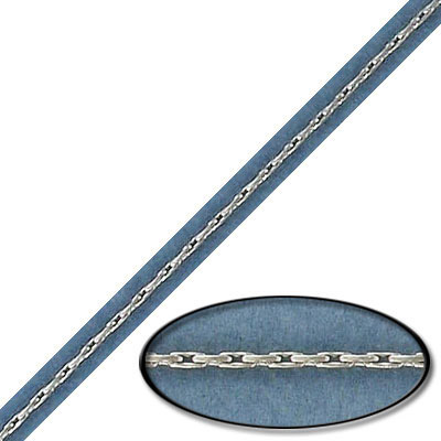 Chain, 3x.50mm link, stainless steel, 304l, 10 meters
