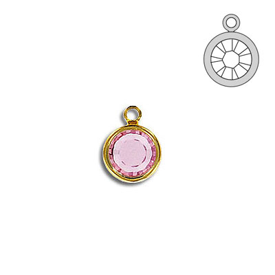 Channel ss29 1-loop light rose gold