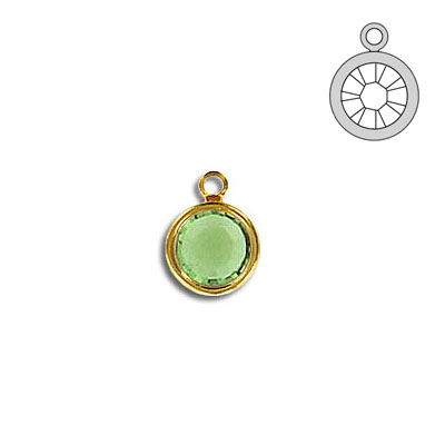 Channel ss29 1-loop peridot gold