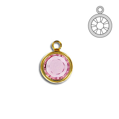 Channel ss39 1-loop light rose gold