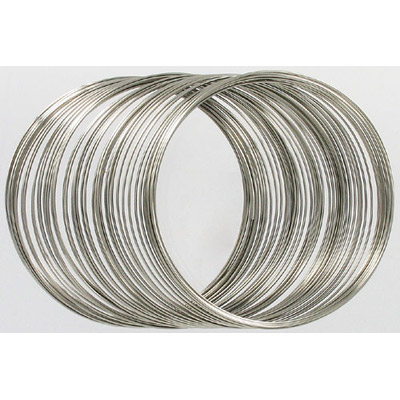 Memory wire bracelet large 28.3g (1 oz) (approx 75 loops)