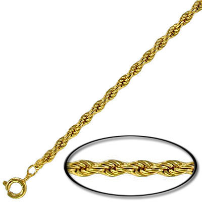 Neck chain 16 inch gold plated