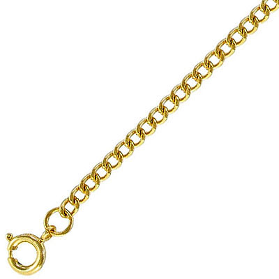 Neck chain 20 inch gold plate