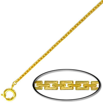 Neck chain 15 inch gold plated