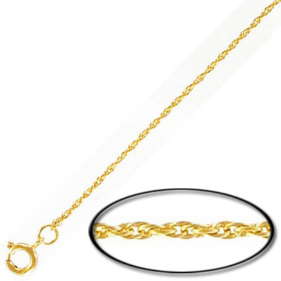 Neck chain 18 inch, gold plate