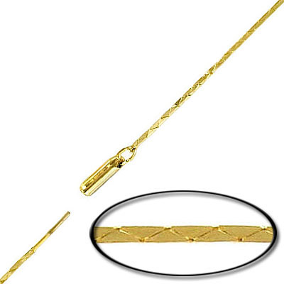 Neck chain 18 inch gold plated
