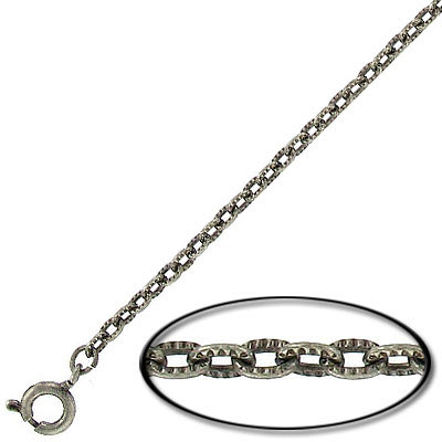 Neck chain 24 inch pewter