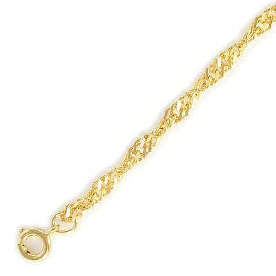 Neck chain 18 gold plated