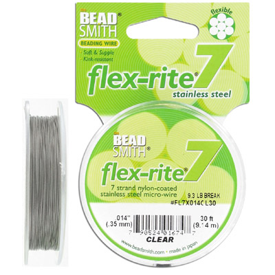 Tigertail, 0.14, Flex-Rite, 7 strands, 30 feet