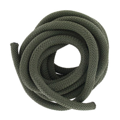 Climbing cord, 10mm, polyester, khaki, pack of 3 meters. Made in Europe