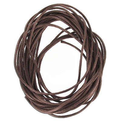Cord rattail, size1, brown, 6 yards
