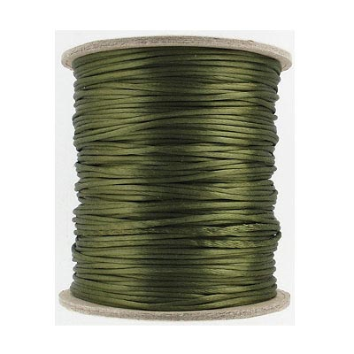 Cord rattail size 1, 131.7 metres (144 yards) dark olive