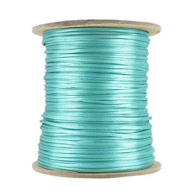 Cord rattail size 1, turquoise, 144 yards