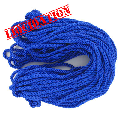 Twisted rope, 6mm, royal blue, 25 meters