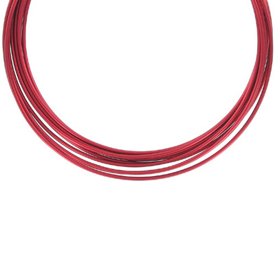 Artistic wire, 14 gauge, red, 10ft