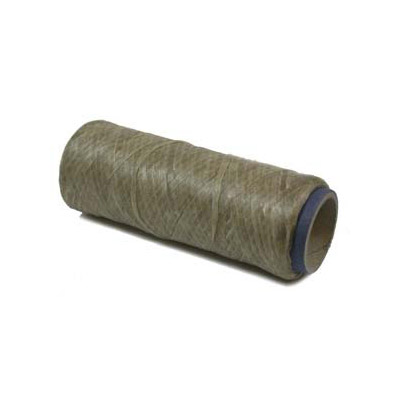 Synthetic sinew 4ply, 1oz, natural color, 34 yards