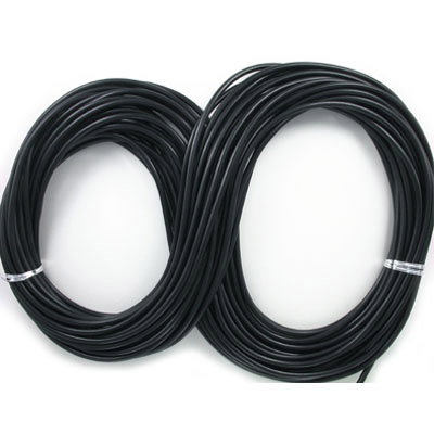 Cord synthetic leather 5mm diameter 25 metres black
