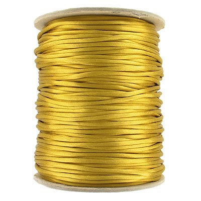 Cord rattail size 2, 131.7 metres (144 yards) antique gold