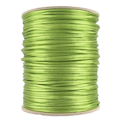 Cord rattail size 2, 131.7 metres (144 yards) apple green