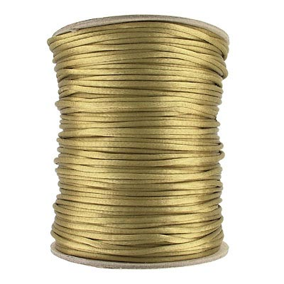Cord rattail size 2, 131.7 metres (144 yards) coffee (light cream)