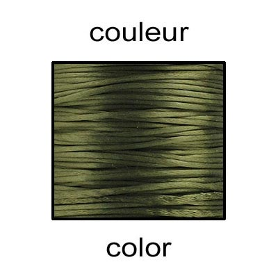 Cord rattail size 2, 131.7 metres (144 yards) dark olive