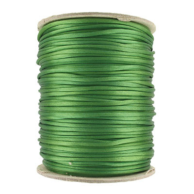 Cord rattail, size 2, 131.7 meters (144 yards), emerald