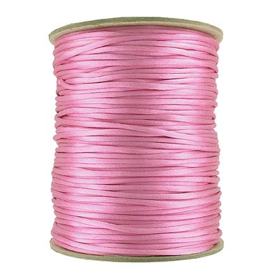 Cord rattail size 2, 131.7 metres (144 yards) hot pink