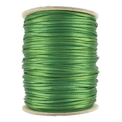 Cord rattail size 2, 131.7 metres (144 yards) kelly green