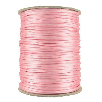 Cord rattail size 2, 131.7 metres (144 yards) light pink