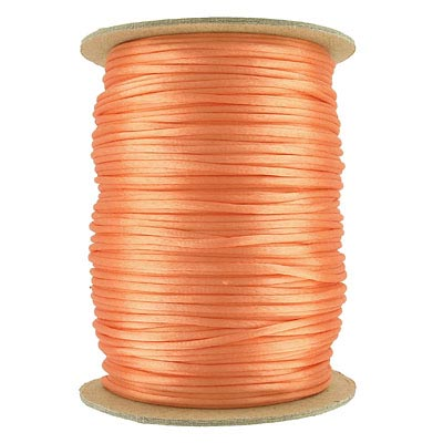 Cord rattail size 2, 131.7 metres (144 yards) peach