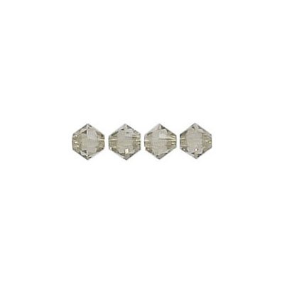 Crystal Swarovski 5328(5301), Faceted Bicone Bead. Greige color. 4mm size. Sold per pack of 144. (SKU# 5328/4MM/151)