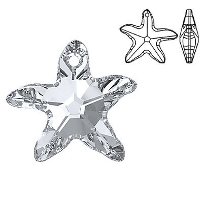 Crystal swarovski 6721 starfish pendant silver coating 20mm size crystal swarovski 6721 starfish pendant silver coating 20mm size aloadofball Gallery