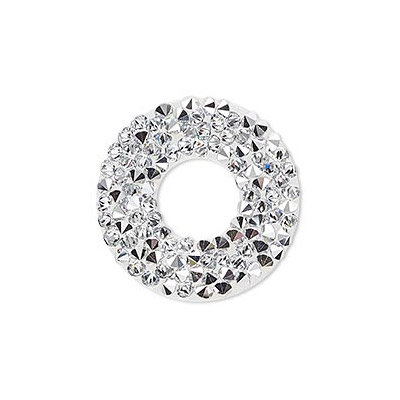 Swarovski 72032 crystal rock, 30mm, crystal CAL
