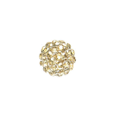 Swarovski 40515 crystal mesh balls, crystal golden shadow rhinestone mesh on crystal vintage gold pearl, casin clor silv