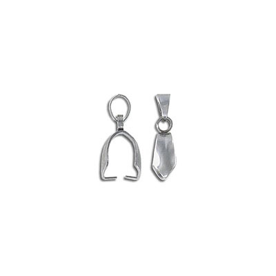Bail, 18x5mm, stainless steel