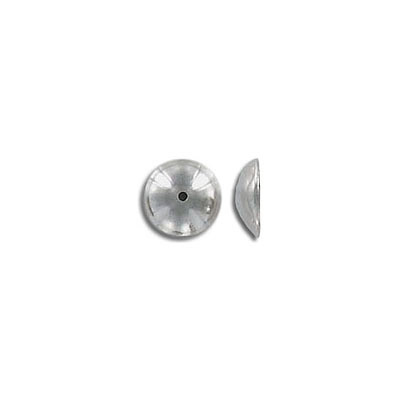 Bead cap, for 10mm beads, stainless steel, 304L