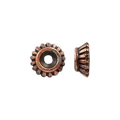 Bead cap antique copper lead free