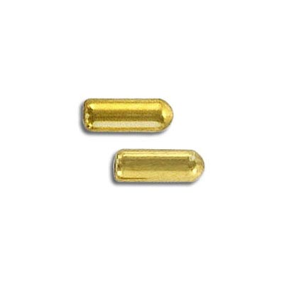 Bullet clutch gold plate