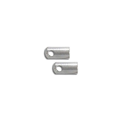 Cord end, inside diameter 3.8mm, stainless steel