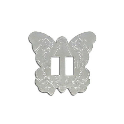 Concho, butterfly, white