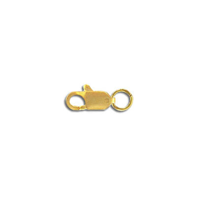 Lobster clasp, 9mm, gold filled