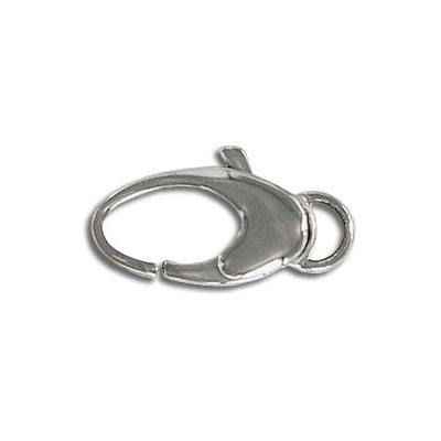 Clasp, 19mm, stainless steel