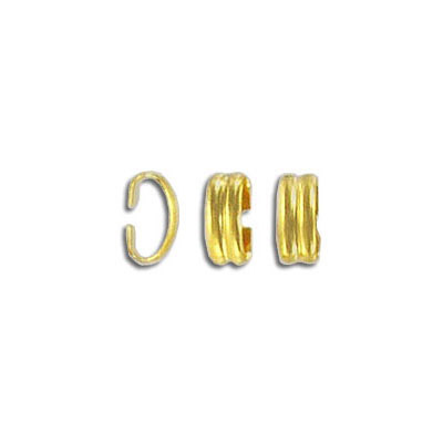 Crimp connector gold plated